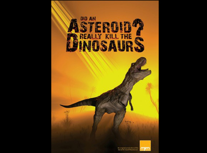 """Rollins Planetarium to Present """"Did an Asteroid Really Kill the Dinosaurs?"""""""