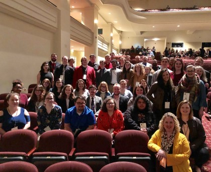 YHC students, faculty and alumni recently participated in the Georgia Music Educators Association (GMEA) In-Service Conference in Athens, Ga.