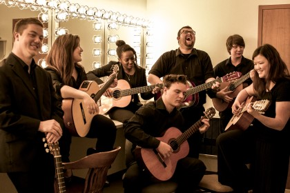 The YHC Guitar Ensemble will perform on Tuesday, Nov. 12.