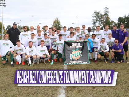 YHC Men's Soccer Team Wins PBC Tournament