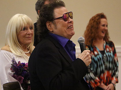 Ronnie Milsap, 64, returns to YHC campus for an evening of celebration.